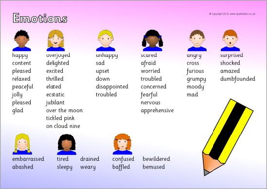 emotions writing word mat sb9344 sparklebox literacy