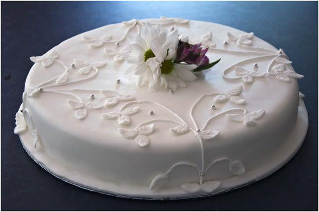 1 layer wedding cakes | Your Cake Photographs: Single Layer Wedding Cake
