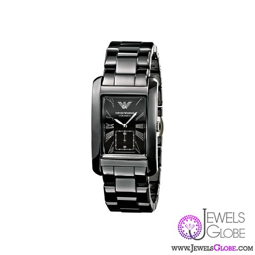 mens armani ceramic watch