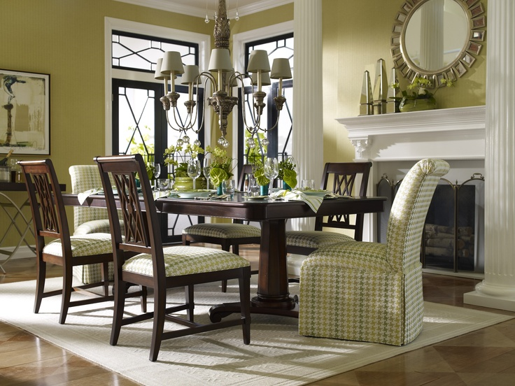 Ethan Allen Photo  Love The Color Scheme And Fabrics For Guest Room. Love  The Splash Of Abstract Art Mixed With Traditional Elements And Gingham  Fabric.