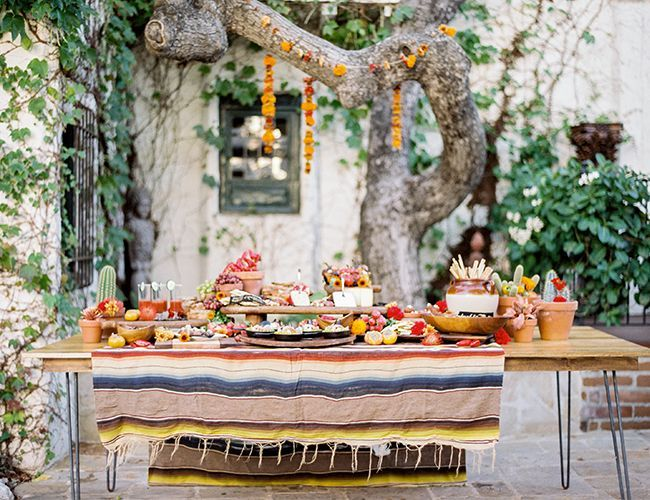 Southwest Outdoor Dinner Party