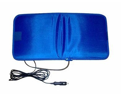 12 Volt Heating Pad for Pets A waterproof heating pad, the Pooch Pal Hound Warmer is great for overnight stays at hotels, traveling on those cold fall/winter days and even doubles as a car seat heater