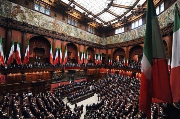 ...l'ultimo Parlamento Italiano !