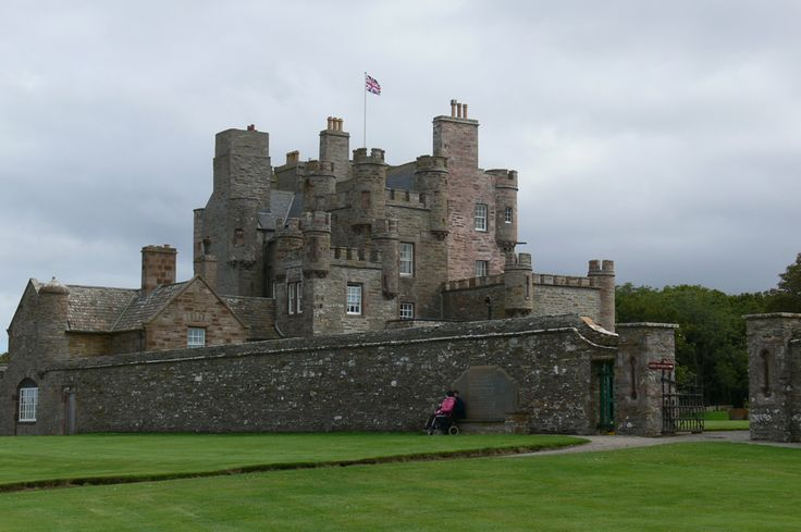 Castle of Mey - Her Magesty Queen Elizabeth, the Queen Mother, had it restored & renovated after the death of her husband, King George VI