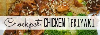 Crockpot Chicken Teriyaki
