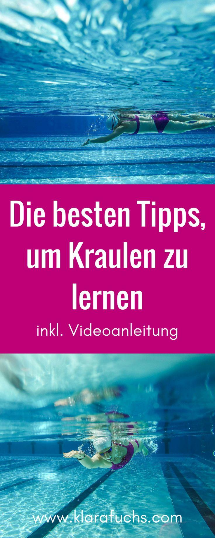 Die ulitmativen Tipps, um richtig Kraulen zu lernen, bekommst du hier. Viele Informationen rund um die Kraultechnik und wie du den korrekten Kraulzug machst, erfährst du hier. Schwimmen und Kraulen lernen - Tipps! Im Beitrag findest du auch ein Video zum Thema Kraulen und Kraulschwimmen und Kraultechnik. Mehr auf www.klarafuchs.com