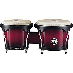 Meinl Headliner Series Wood Bongos Wine Red Burst | Guitar Center