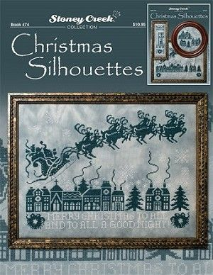 CHRISTMAS SILHOUETTES - Counted Cross Stitch Pattern