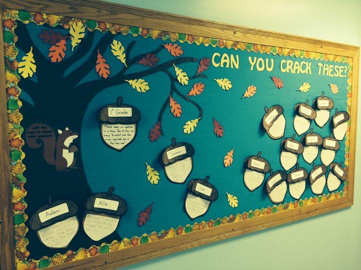 bulletin board template word - 1000 ideas about math door decorations on pinterest