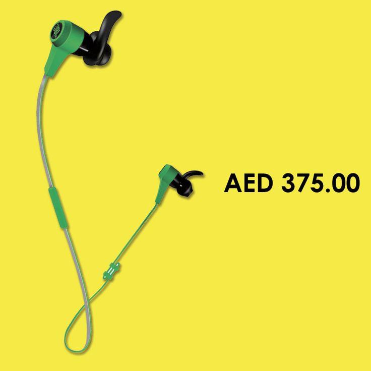 JBL Synchros Reflect BT In-Ear Bluetooth Sport Headhpones - Green #Earbuds #Headsets #headphones #online #shopping #earphones#menakart #Jabra