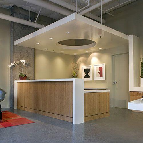 Reception Desk Teragren 174 Panel Veneer Gallery