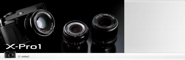 Fujifilm X-Pro1.  Mine.  Soon.