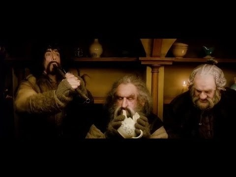 The Hobbit - Blunt The Knives Song. In which all the dwarves (except Thorin, he is too MAJESTIC) are circus folk.