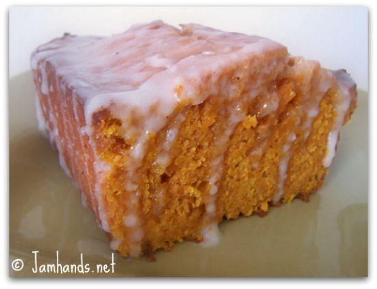 Jam Hands: Moist Ginger Pumpkin Bread