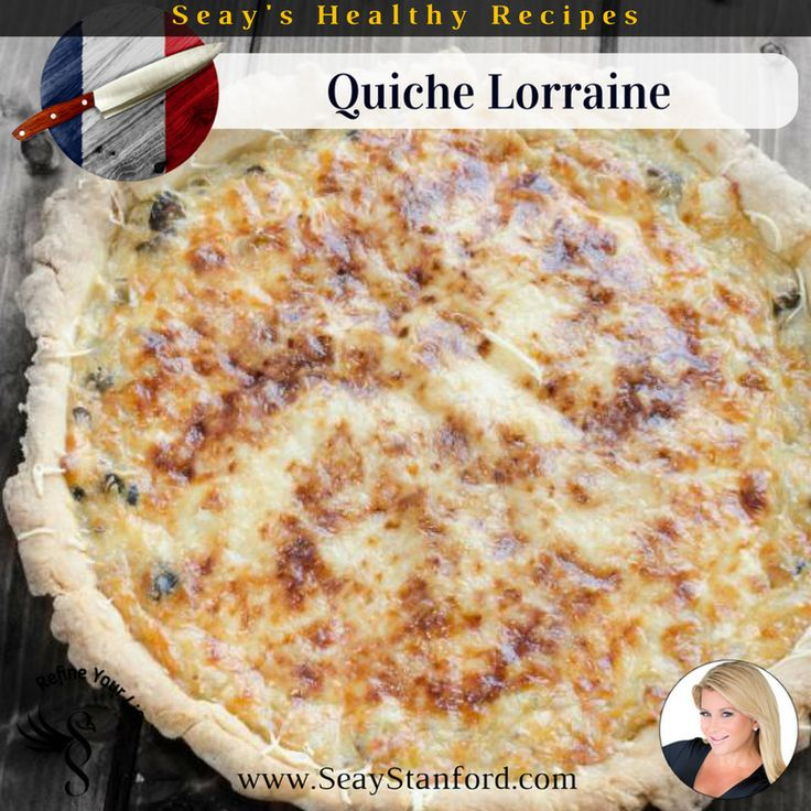 quiche lorraine recipe food recipes pinterest