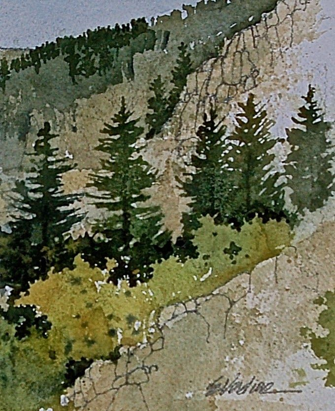 UTAH LANDSCAPES IN WATERCOLOR:                 A summer painting ...