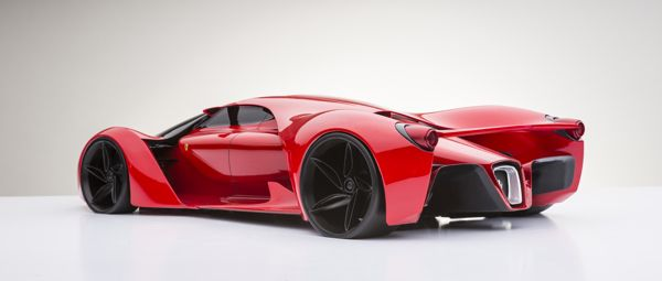 Ferrari F80 by Adriano Raeli, via Behance