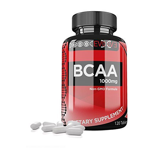 LOOK:  DBA Evolve  Branched Chain Amino Acids BCAA Leucine Isoleucine Valine Pre  Post Workout Supplement Fitness Training Formula Stimulates Muscle Protein Synthesis