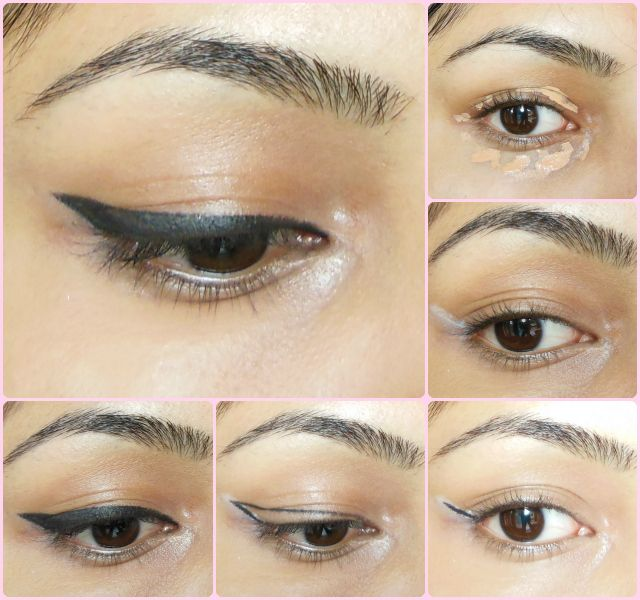 Makeup Trick: Winged Eye Liner like a Pro Hello Dolls, You must already know that I am obsessed with winged eye liners and I just can't do without them. I