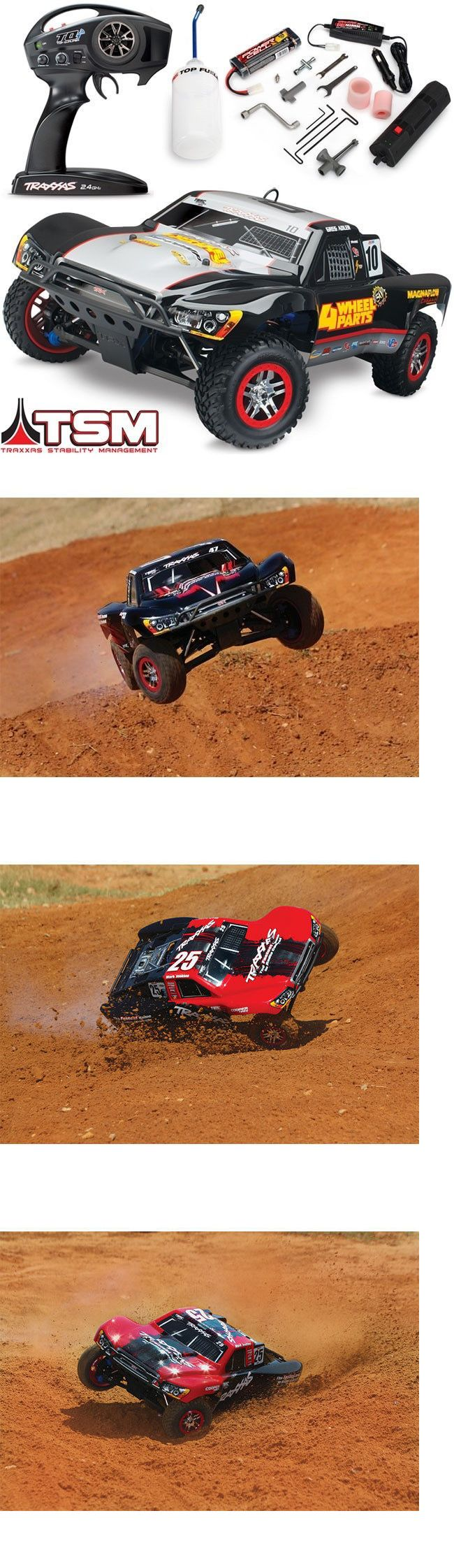 Cars Trucks and Motorcycles 182183: Traxxas Slayer Pro 4X4 Nitro Rtr Short Course Rc Truck W Tsm - 4-Wheel Parts -> BUY IT NOW ONLY: $419.95 on eBay!
