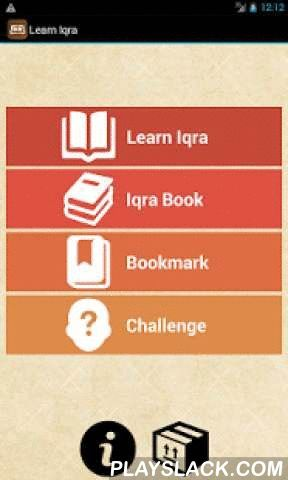 Learn Iqra  Android App - playslack.com , Learn read Quran more easier, study anywhere and anytime. Learn Iqra is a free application to help learn how to read Quran more easier. Just relax and follow the step to learn read Arabic letter and word. Practice regulary and you will know read Quran is not difficult.- guide to learn the Koran Quran with iqra method- learning to read hijaiyah arabic letters- detail graphic letters and beautiful layout- equipped with good pronunciation of hijaiyah…
