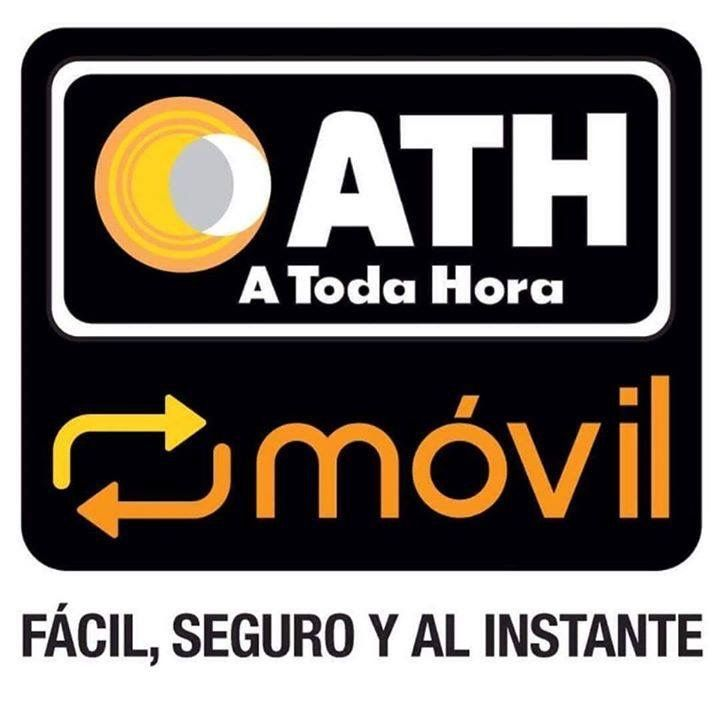 Paid from ATH móvil or PayPal Ath, Logos