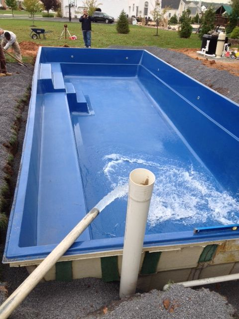 1000 images about fiberglass pool install 27 on pinterest for Fiberglass pool installation