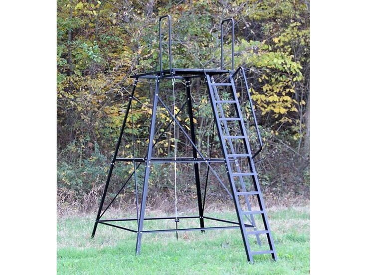 Redneck Blinds 10 Elevated Blind Platform Steel Hunting