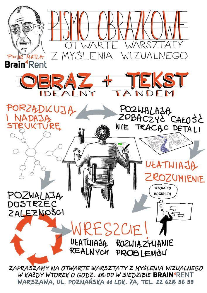 Pismo obrazkowe - cykl warsztatów z myślenia wizualnego (najbliższy 16.07.13 prowadzę ja!)