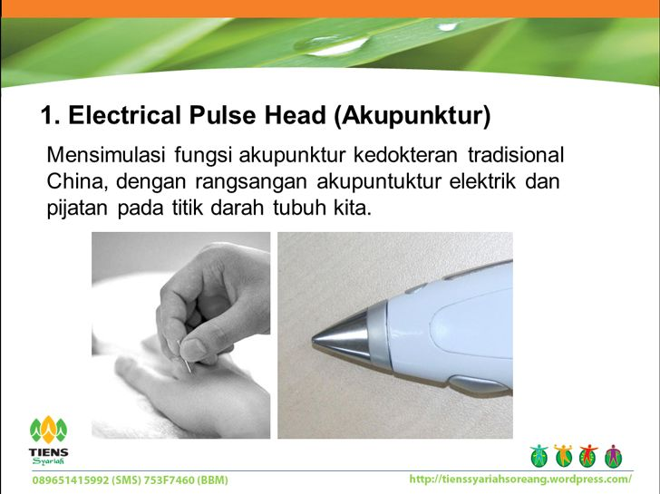 Electrical Pulse Head (Akupunktur)