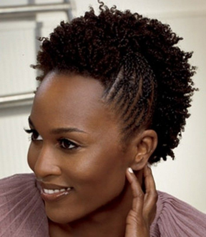 Natural Short Hairstyles 2013 For Black Women