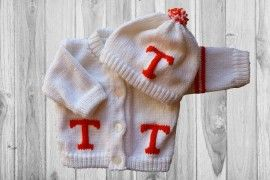 Tennessee University Baby Sweater