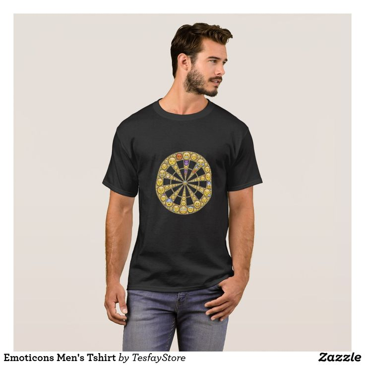 Emoticons Men's Tshirt