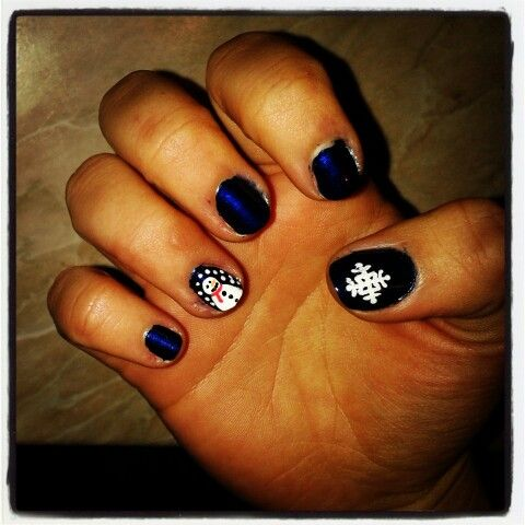 Mapu's winter nails