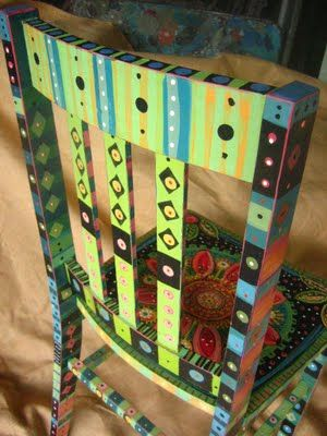 Pam Marwede: Paintings Furniture, Decor Ideas, Creative Paintings, Home Decor, Decor Stuff, Fun Chairs, Furniture Ideas, Awesome Chairs, Paintings Chairs