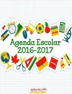 17 best ideas about agenda gratis on pinterest - Agenda imprimible 2017 ...