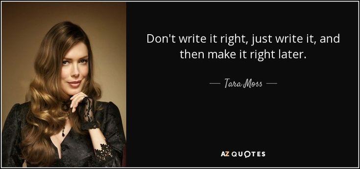 Tara Moss quote