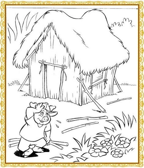 """Profª: Ivani Ferreira: Plano de aula""""Os Três Porquinhos""""/maternal 2"""