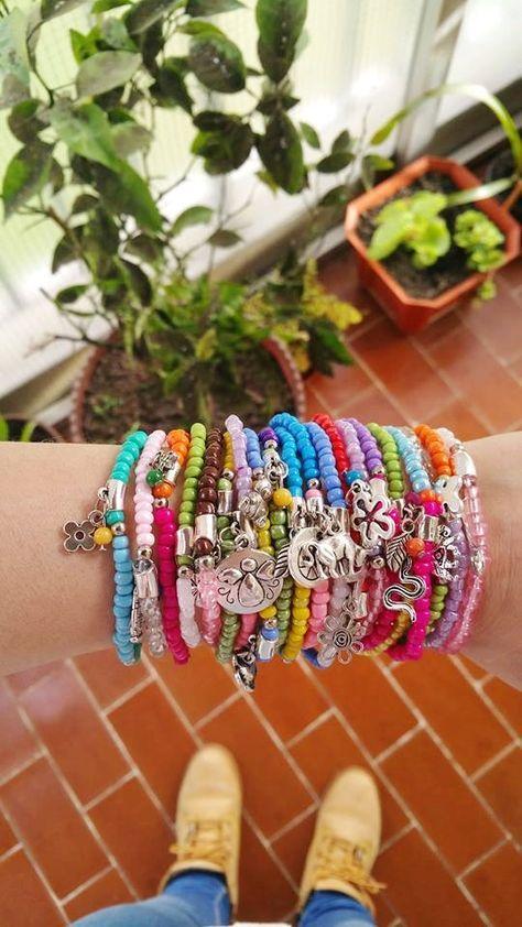wholesale Bracelets  Boho Chic Colourful Summer by TresJoliePT