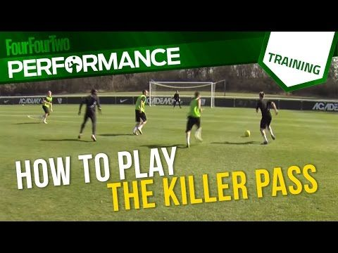 How to pass your way through defensive lines | Football tactics | Nike Academy - YouTube