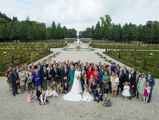 Koning Willem-Alexander, Koningin Máxima en andere leden van de Koninklijke Familie zijn zaterdag 5 oktober 2013 aanwezig bij het kerkelijk ...