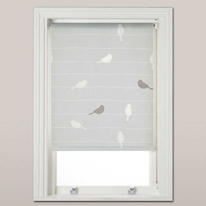 Buy John Lewis Bird On A Wire Daylight Roller Blind Mineral W183cm Online At Cream BlindsBedroom BlindsKitchen