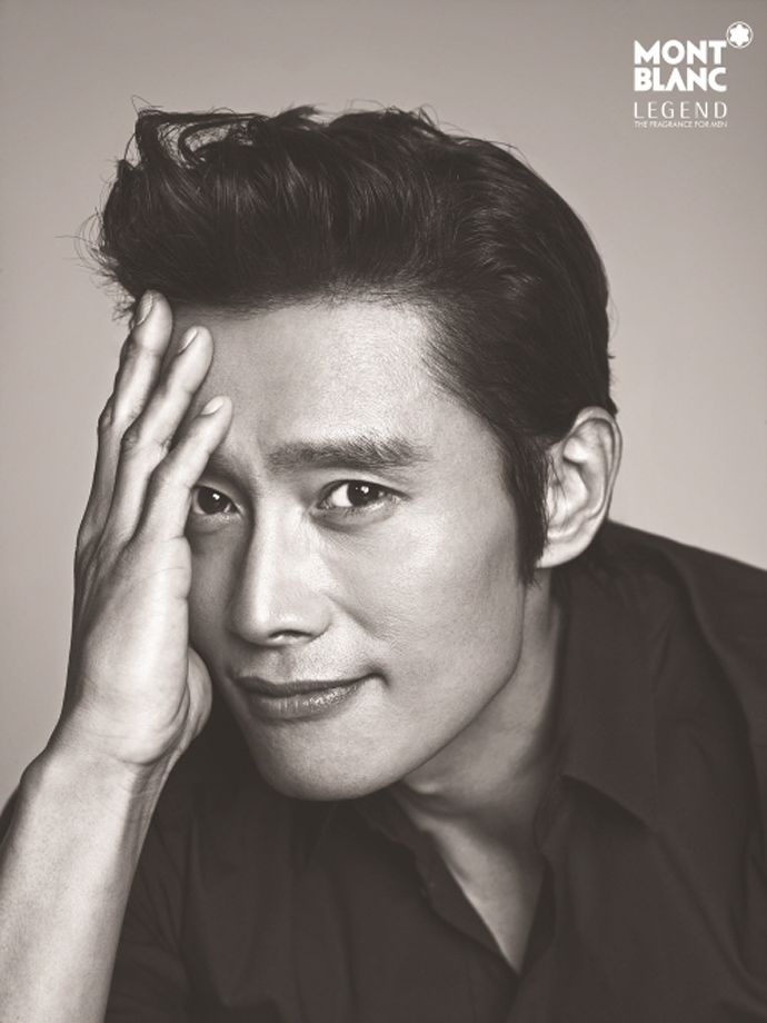 A Charismatic Lee Byung Hun Spritzes Himself With Montblanc's 'Legend' Cologne | Couch Kimchi
