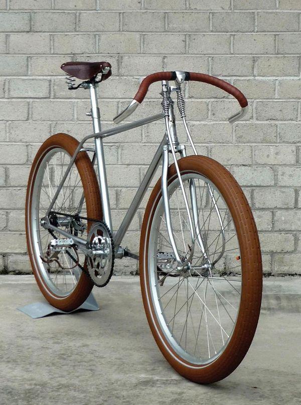 simple, clean design - bicycle