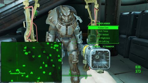Fallout 4 X-01 Power Armor location abandoned-shack