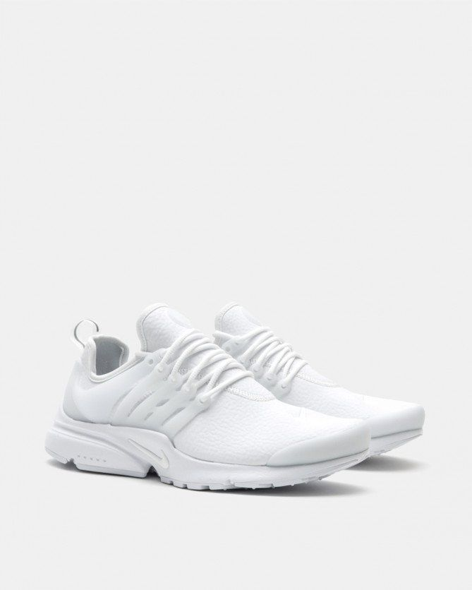 Nike Women's Air Presto PRM (White | White | Wolf Grey