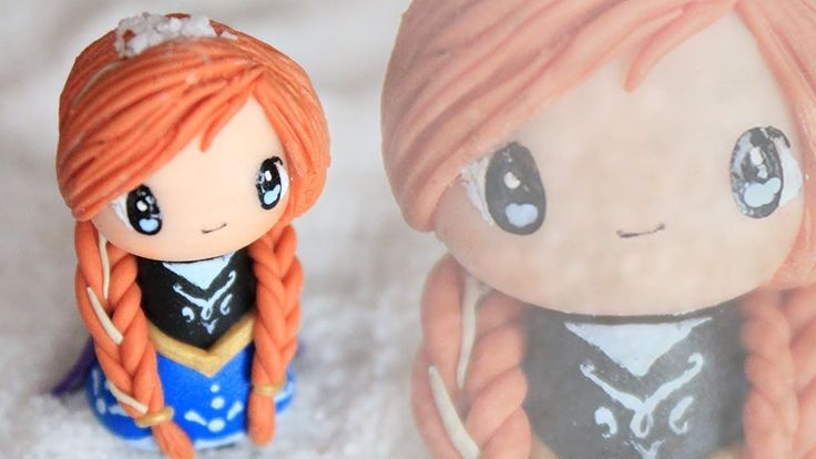 Anna Chibi Tutorial from FROZEN : Polymer Clay How-to  More Polymer Clay Tutorials www.youtube.com/user/FimoKawaiiEmotions/videos