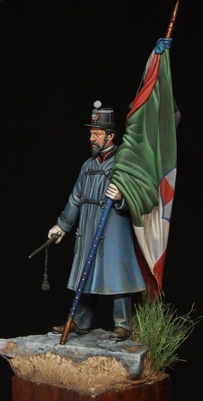 1859 - Kingdom of Italy - Italian Standard-bearer