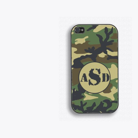Monogrammed / Personalized Camo Phone Cases by Humerus Wares | Hatch.co