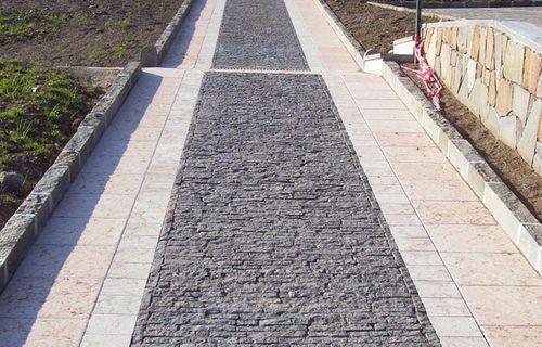 Lastricato in pietra / carrabile / in materiale riciclato SMOLLERI CONSORZIO CAVATORI PRODUTTORI PORFIDO SOC. COOP.
